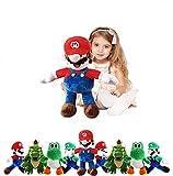 FAIRZOO Super Mario Plush, Mario Soft Stuffed Plush Toy Red - 20'