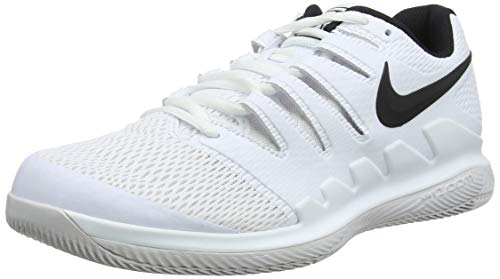 Nike Herren Air Zoom Vapor X Hc Sneakers, Mehrfarbig Black/Vast Grey/Summit White 101, 44.5 EU