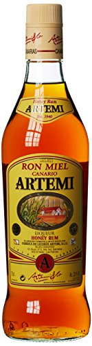 Ron Miel Canario Artemi, Honig Rum Liqueur, Kanarische Inseln, 0,7l Likör (1 x 0.7 l)