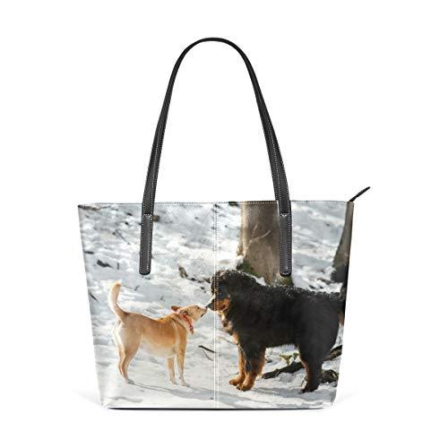LUPINZ Berner Berner Hund, Damen Handtasche, Handtasche