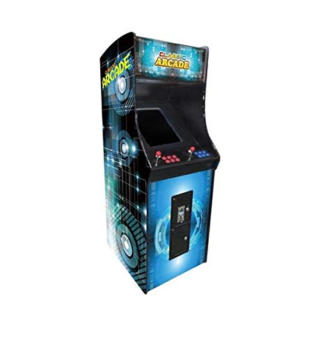 Creative Arcades Full Size Stand-Up Commercial Grade Arcade Machine   2 Player   750 Games   22' LCD Screen   2 Sanwa Joysticks   2 Stools Included   3 Year Warranty