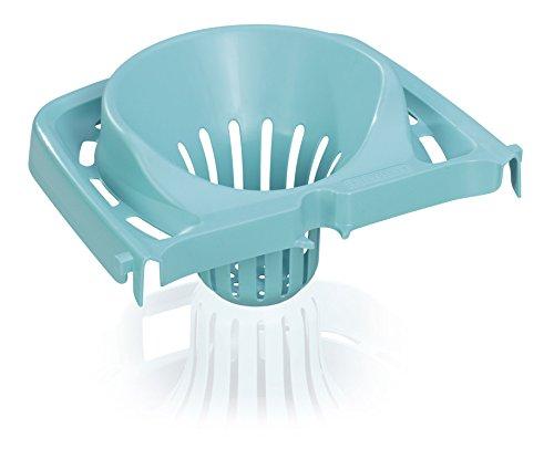 Leifheit Classic Mop Uitperszeef voor de Leifheit Emmer Combi, comfortabel uitpersen zonder handen in vuilwater en zonder bukken, eenvoudige reiniging van de vloer, zeef