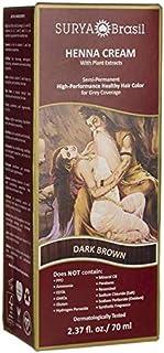 Surya Brasil Henna Dark Brown Cream - 2.37 Ounce