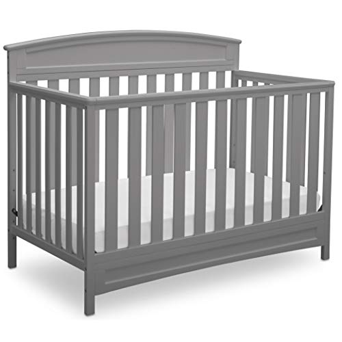 Delta Children Sutton 4in1 Convertible Baby Crib Grey