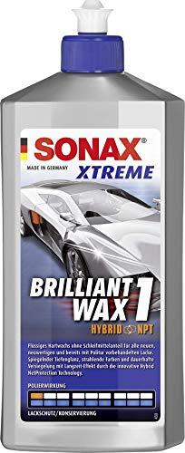 SONAX XTREME BrilliantWax 1 Hybrid NPT (500 ml) flüssiges Hartwachs ohne Schleifmittelanteil | Art-Nr. 02012000