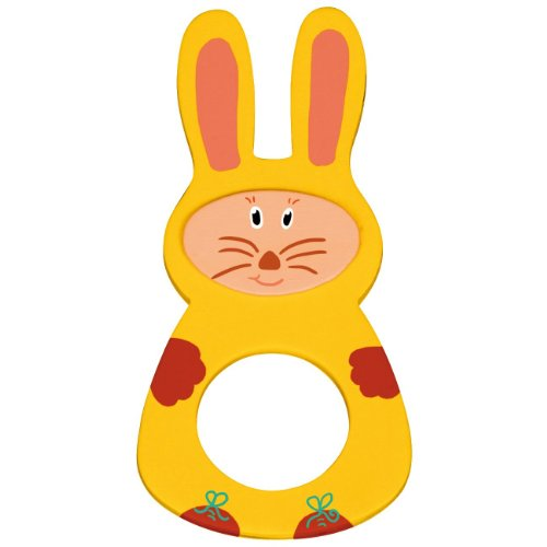 EDUPLAY 21012813,5x 6,5x 0,4cm Ostern Bunny Serviette Ring