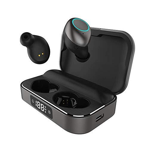 Holiper Auriculares Inalambricos Bluetooth 5.0 in Ear, Cascos Inhalabricos con Microfono, Estéreo...