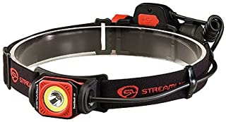Streamlight 51063 Twin-Task USB Headlamp, Black/Red, Clam Package