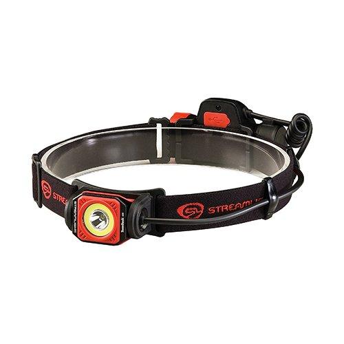 Streamlight Twin-Task USB Headlamp- Clam Black/Red