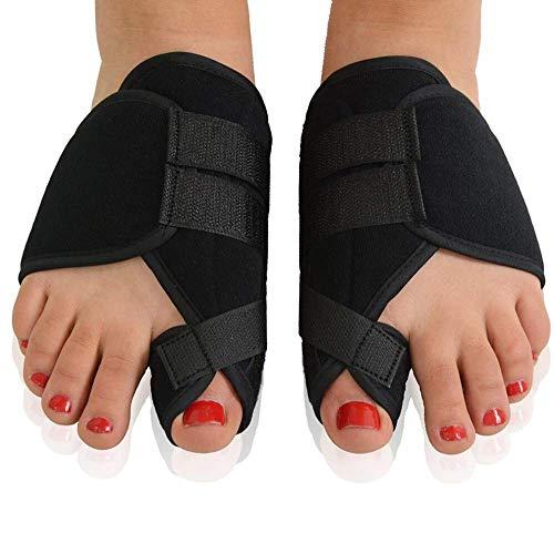 5 pc alluce valgo Bunion Corrector, separatore dito dispositivo medico, per pollice cura dito valgo, protezione correzione antischeggia utensile piede