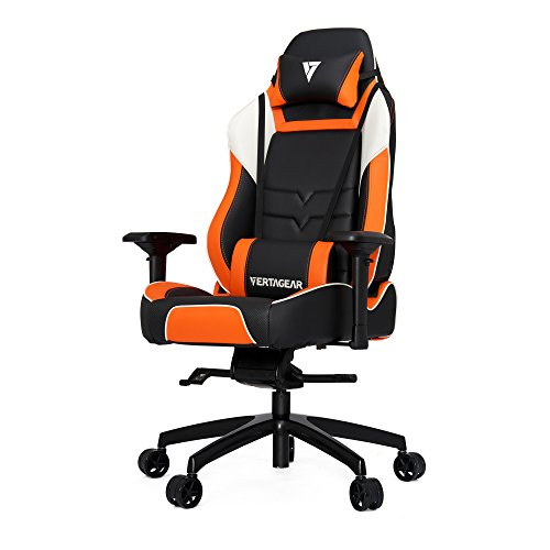 Vertagear P-Line 6000 Racing Series Gaming Chair, X-Large, Black