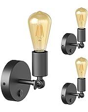 ledscom.de Table Lamp TIPO en TIX met E27 Lamp Socket Porcelain Round (kleur, lamp en hoeveelheid selecteerbaar)