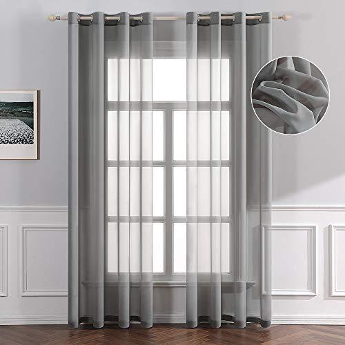 cortinas salon translucidas gris