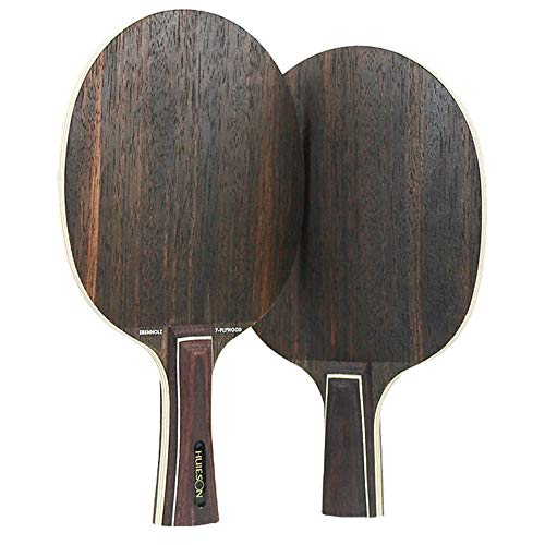Table Tennis Blades, Pure Wood Bottom Plate Ping Pong Bats Snelle Aanval 7 Etages Beroep Ping Pong Training,Short handle