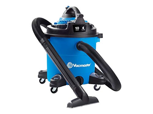 Vacmaster Vacmaster-10 Gallon 4 HP Wet/Dry Vacuum with Detachable Blower (VBVA1010PF), Blue