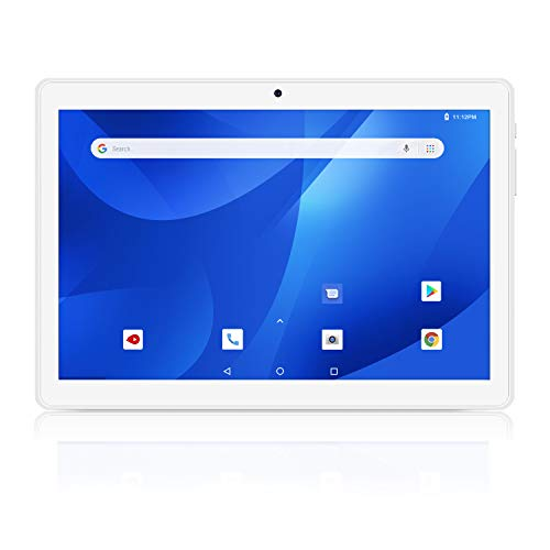 Android Tablets 10 Inch, 5G WiFi Tablet PC, 16GB, Google Certified, Android 8.1 Go, 6000mAh Battery, Dual Cameras, Bluetooth, GPS