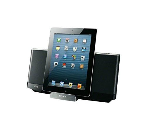 Sony RDP-XF300IPN Docking-Lautsprecher (Bluetooth, FM Tuner, Akku) für Apple iPod/iPhone 5/iPad schwarz