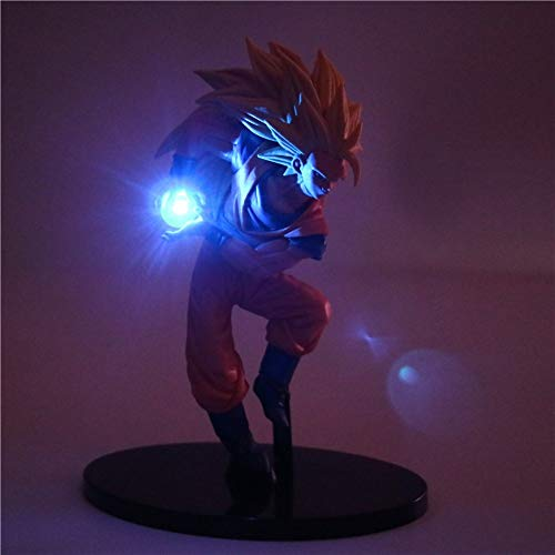 Dragon Ball Z Actionfiguren Nachtlicht Son Goku Led Licht DIY Anime Modell Tischlampe Anime Dragon Ball Super Saiyan Spielzeug Lampe, 2