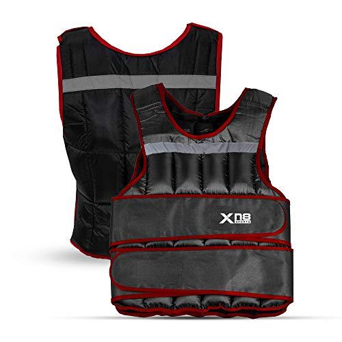 Xn8 Weighted Vest 10kg 15kg 20kg Adjustable Removable...