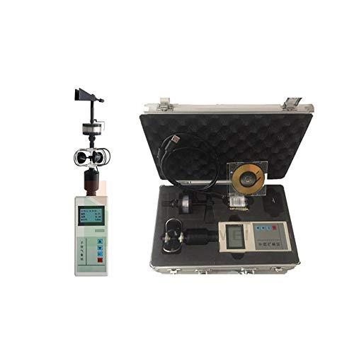 MJ-Brand Instrument météorologique portatif - Anémomètre de Direction du Vent Station Multifonction portative de détection de la température atmosphérique et d'humidité de l'air