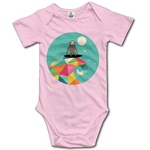 Tamianice - Body de bebé para surf, manga corta, unisex, para bebé Blanco blanco 6 Meses