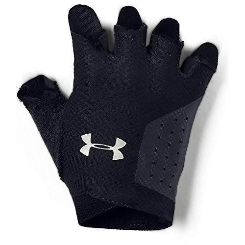 Under Armour Women's Training Glove, Guanti Donna, Nero (Black/Silver), M