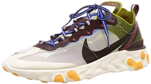 Nike Mens React Element 87 Moss/Black Synthetic Size 13