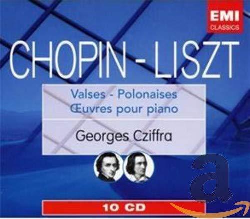 Chopin-Liszt : Valses-Polonaises (Euvres Pour Piano-Georges Cziffra)
