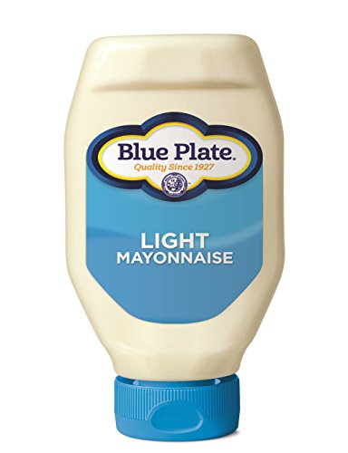 Blue Plate Light Mayonnaise, 18 Ounce Squeeze Bottle (Pack of 6)