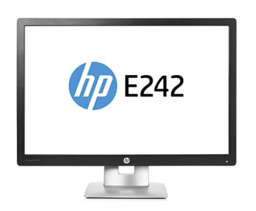 HP EliteDisplay E242 60,9cm (24 Zoll) IPS LED Backlight 7ms 16 10 1920x1200 250cd/m2 VGA DP HDMI Pivot Hoehenv