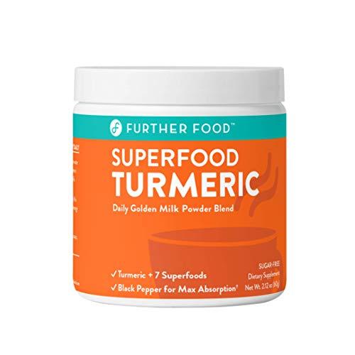 Best Turmeric Golden Milk Organic Turmeric Powder, Anti-Inflammatory Cinnamon Ginger & Black Pepper Maximum Absorption, Joint Pain, Gut Health, Sugar-Free, Vegan, Keto (30 Servings)