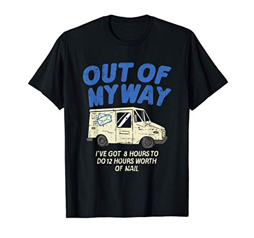 Delivery Driver Clothing Joke Gifts Delivery Truck Design T-Shirt