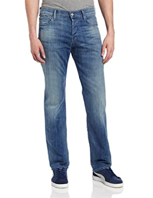 7 For All Mankind The Straight Tapered Washed Out 34 33.5 from 7 For All Mankind