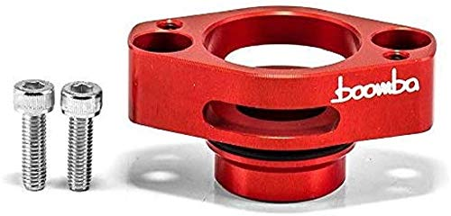 Boomba Racing Red Blow Off Valve Adapter for 2016+ Ford F-150 3.5/2016+ 2.7 Ecoboost
