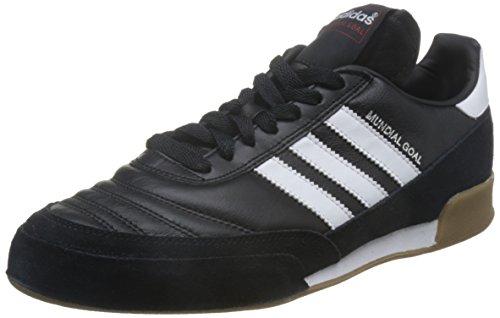 adidas - Zapatillas de fútbol para Interior Mundial Goal, Negro, 43 1/3