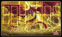 遊戯王OCG デュエルモンスターズ オシリスの天空竜 デュエルフィールド プレイマット ラバー製 W610×H355mm Loppi限定 神のカード