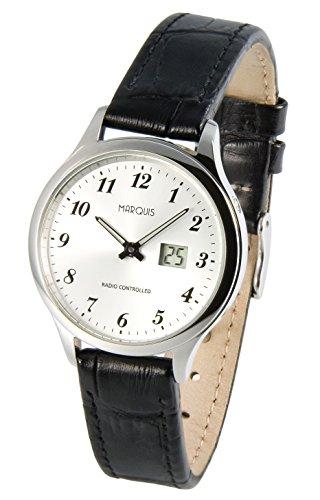 Eurochron Damen Funk Armbanduhr (Junghans-Werk) Funkuhr 964.4707