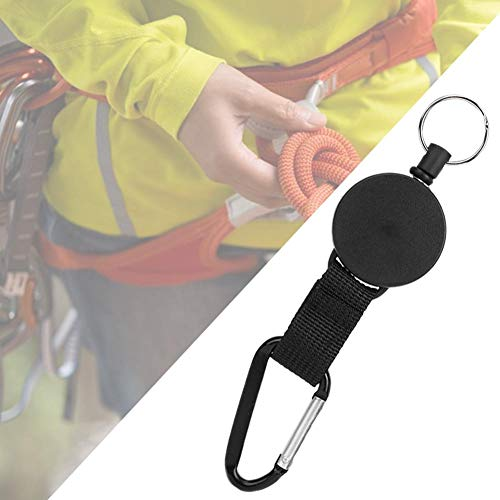 A sixx Keychains, Outdoor Key Ring, Sturdy Durable Compact Size for Many Occasions Hanging Keys