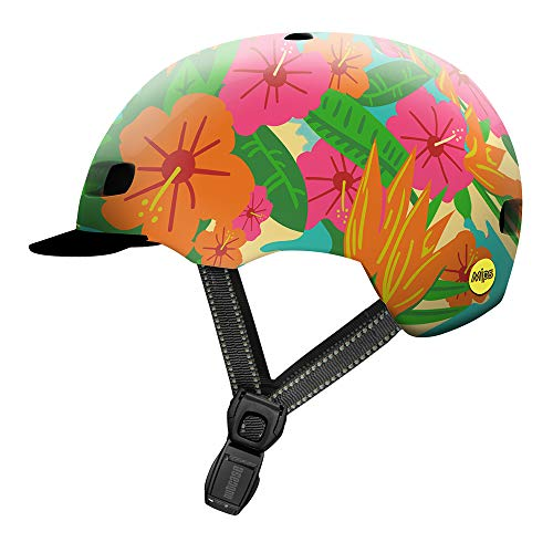 Nutcase Street - Tropics Helm, Mehrfarbig, S