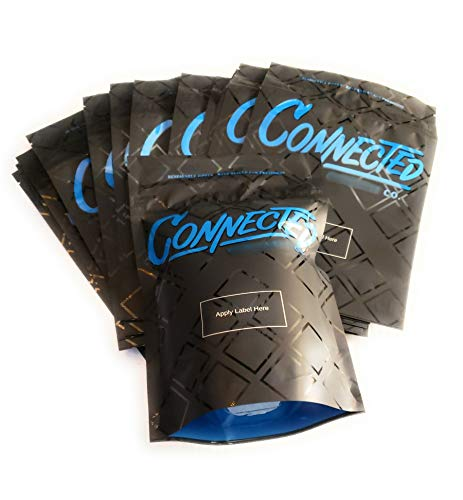 Review 28gram Connected Mylar Bags, Premium/Heat Seal/Smell Proof/Child Proof/Resealable Zipper Stor...