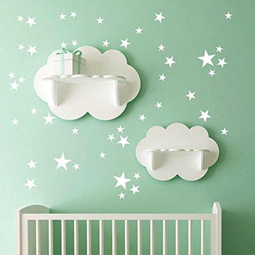 iYmitz 34pcs étoiles Amovibles Art Vinyle Mural Home Room Decor Kids Chambres Stickers Muraux