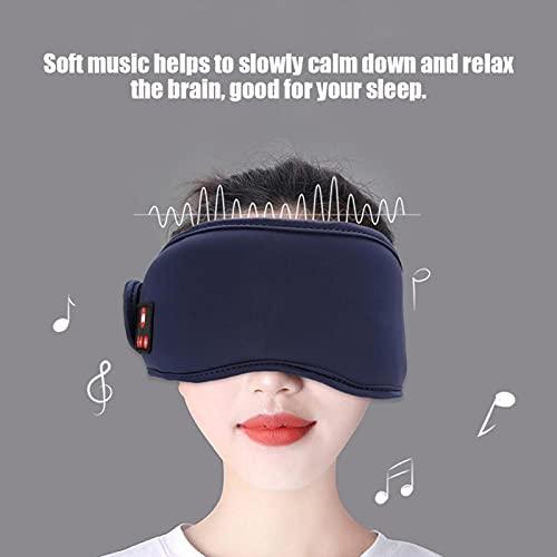 Qqmora Auriculares para Dormir con música para Auriculares inalámbricos Eyepatch