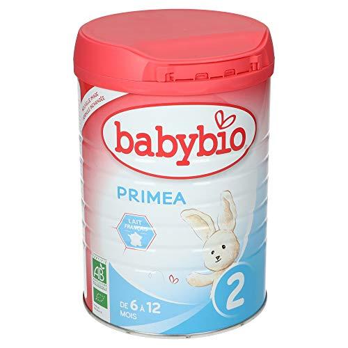 Babybio Primea 2 Lait Nourrisson Bio 6 - 12 Mois, 900 g