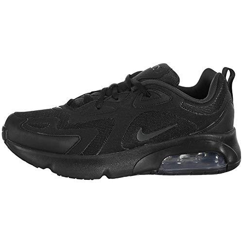 Nike Air Max 200 (GS), Scarpe da Corsa, Black/Anthracite, 38 EU