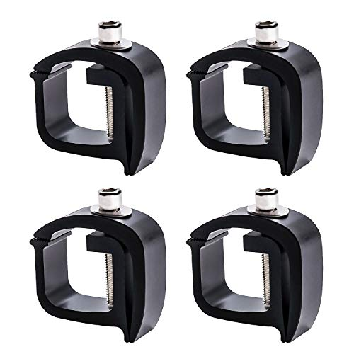 AA-Racks P-AC(4)-01 Set of 4 Aluminum C-Clamps for Non-Drilling Truck...