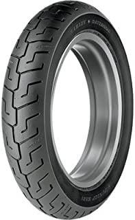 Black Wall for Harley-Davidson Road Glide Special FLTRXS 2015-2018 Dunlop American Elite Front Motorcycle Tire 130//60B-19 61H