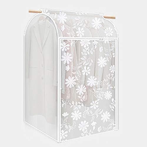 QFFL Sac de compression sous vide Couverture anti-poussière, Oxford transparent entièrement recouvert de tissu en plastique recouvre les vêtements de vêtements suspendus manteau sac de poussière Sac d