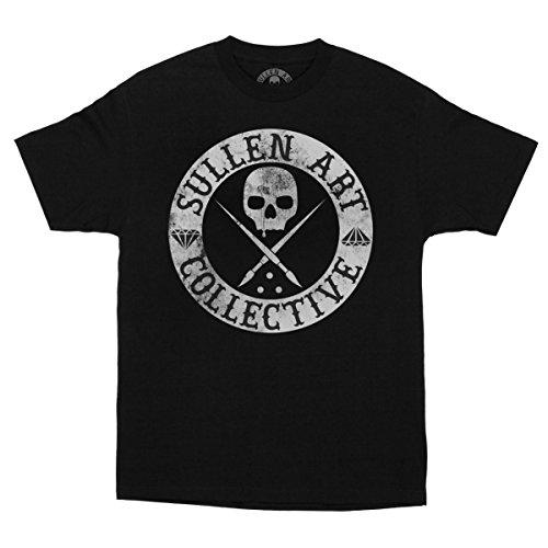 Sullen Clothing Herren Badge of Honor Blaq Short Sleeve Tee T-Shirt, schwarz, 3X-Groß