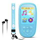 AGPTEK MP3 Player for Kids, K2 8GB Lossless Sound Music Player with 2.4