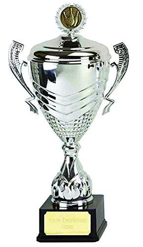Womack Graphics 612CMCD010 Bowling-Pokal, 42 cm, mit Gravur bis zu 50 Buchstaben